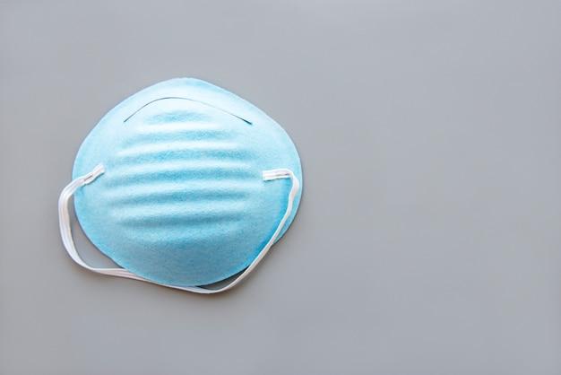 Blue medical mask