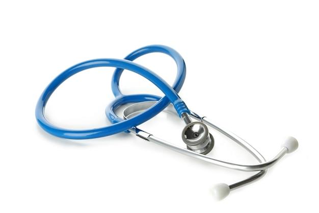 흰색 절연 블루 의료 청진 기
