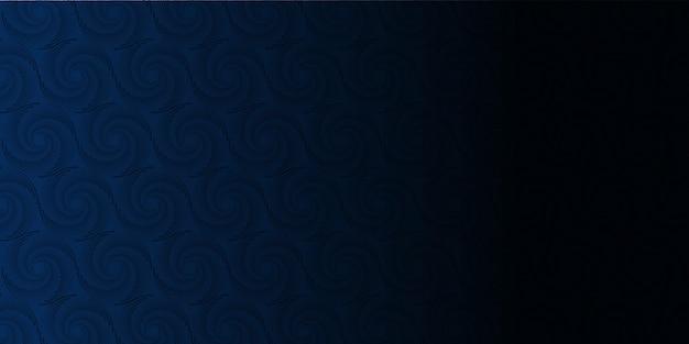 青いメンフィススタイルのパターン暗い背景。ビジネスや企業のプレゼンテーションのための現代の幾何学的な背景。ベクトルイラスト