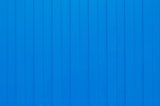 Blue metal corrugated sheet
