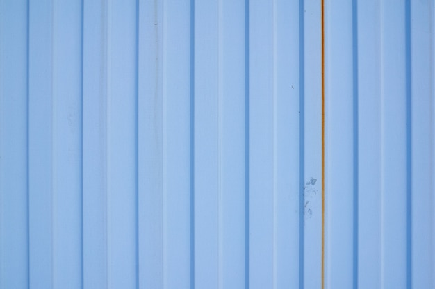 Blue metal iron sheet with vertical stripes