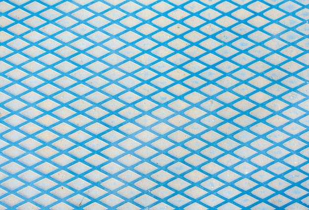 Blue metal lines background texture
