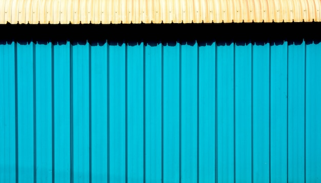 Blue metal sheet for industrial building and construction