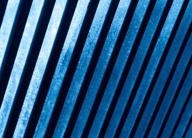 파란색 금속 패널 질감 배경