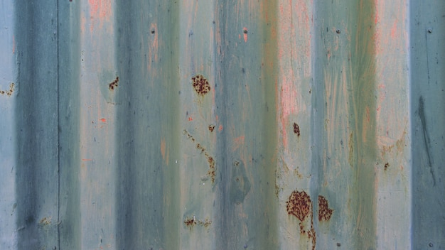 Синий металлический ржавый фон текстуры стены