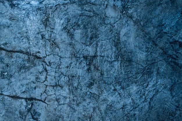 青いモルタルの背景、セメントのテクスチャ