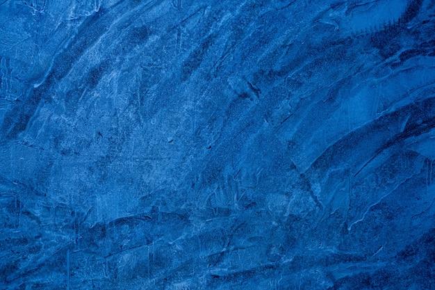 Фон синий раствор, текстура цемента