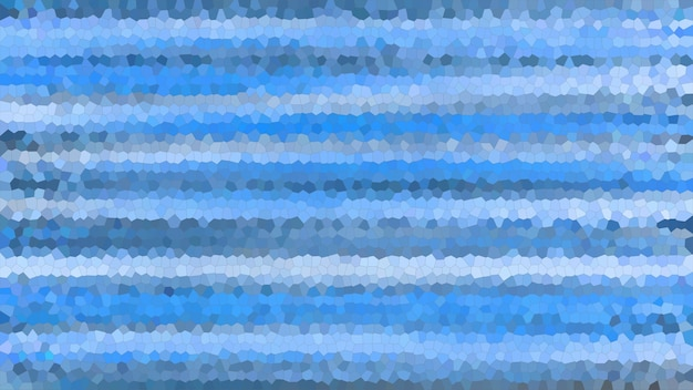 青いモザイク抽象的なテクスチャの背景、グラデーションの壁紙のパターンの背景