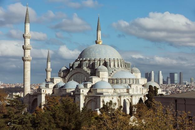 トルコ、イスタンブールのブルーモスク