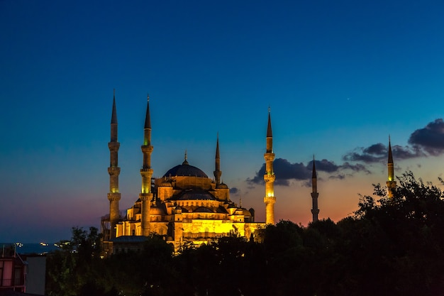 이스탄불, 터키의 블루 모스크