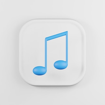 Blue musical note icon