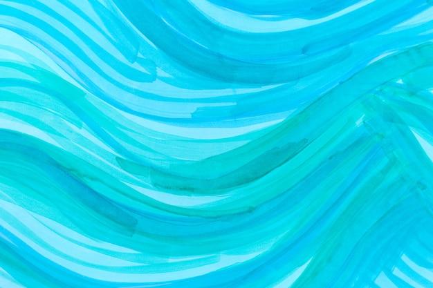 Синий океан стиль произведения искусства текстуры абстрактный фон
