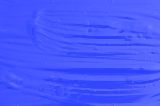 파란색 오일 페인트입니다. 디자이너의 배경