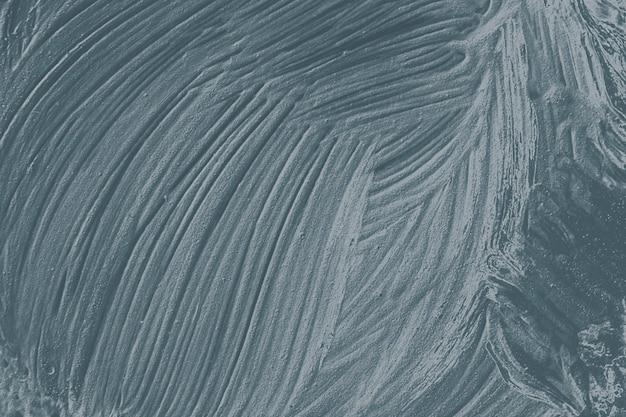 Blue oil paint brushstroke textured background