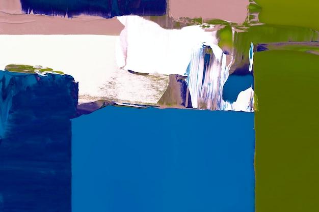 青いペンキの背景の壁紙、混合色の抽象的なテクスチャアート