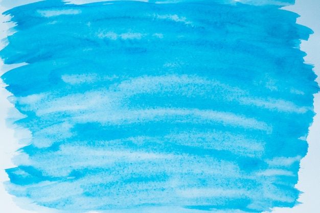 Blue paint stains on canvas. illustration with blots. paper background.