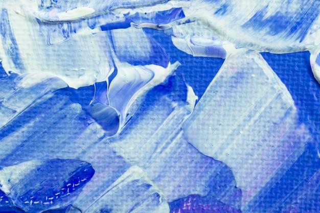 파란색 페인트 질감 배경 미적 diy 실험 예술