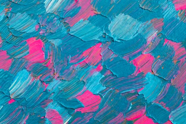 Vernice blu con texture di sfondo estetico arte sperimentale fai da te