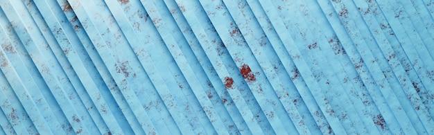 블루 그린 된 나무 대각선 줄무늬 패턴