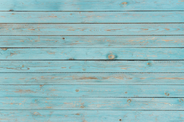 Blue painted wooden planks, background, texture