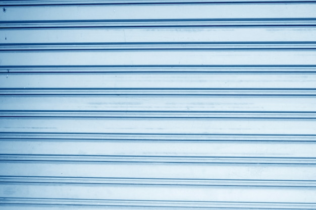 Blue panel steel wall background