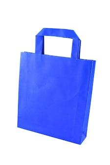 블루 종이 쇼핑백 절연