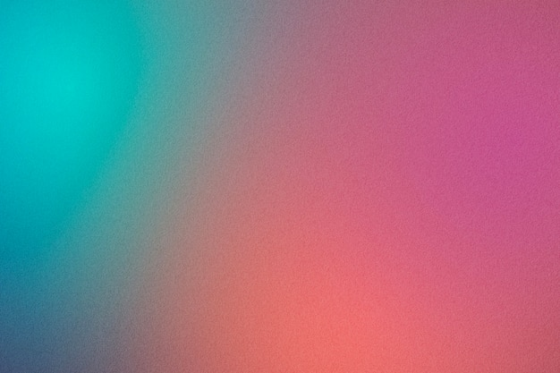 Blue peach and pink abstract gradient texture background
