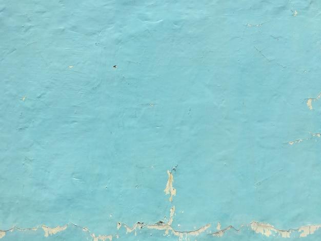 Blue peeling wall background