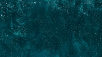 Blue pigment in water