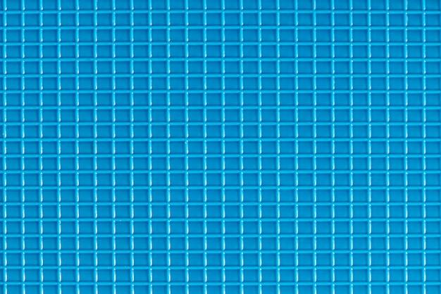 Blue plastic checkered pattern
