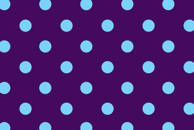 Blue polka dot with colorful background