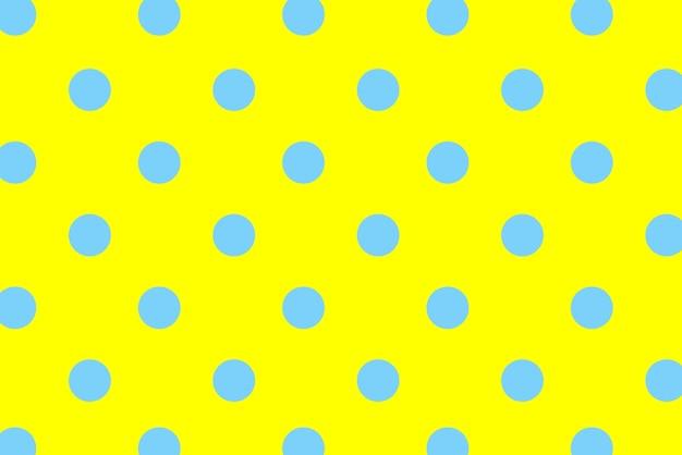 Pois blu con sfondo colorato