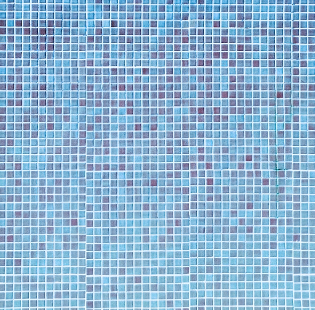 Blue pool mosaic texture
