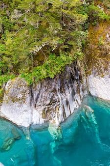 Голубой бассейн южный остров новая зеландия