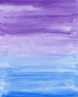 Blue and purple gradient watercolor background texture