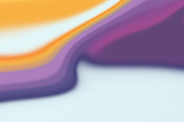 Sfondo di marmo blu e viola con un tocco arancione