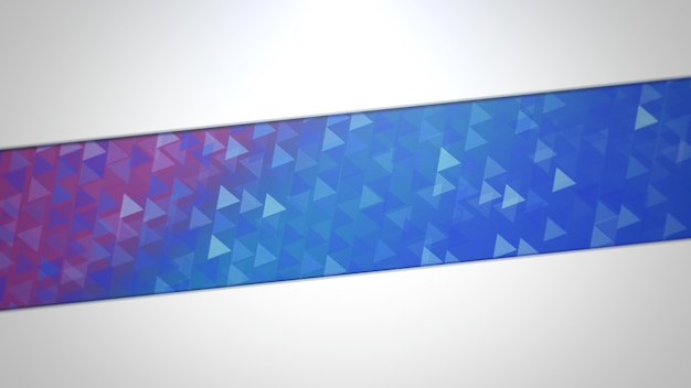 Blue and purple triangles, abstract background. elegant and luxury dynamic geometric style for business, 3d illustration