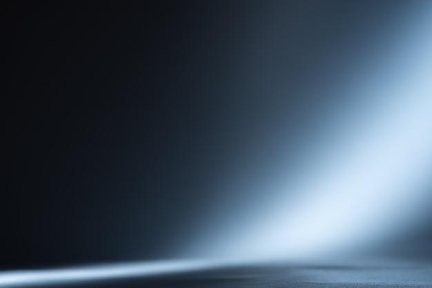 青い光線。抽象的な背景