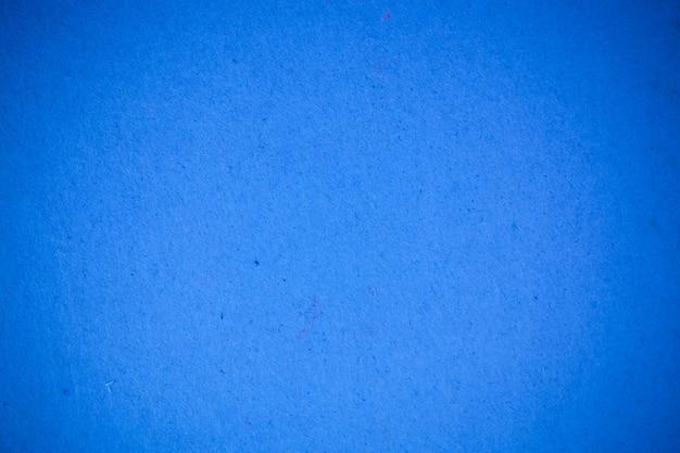 青のリサイクル紙の背景。