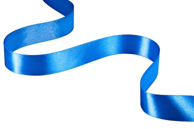 블루 리본 흰색 절연