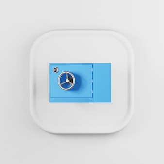 Blue safe icon