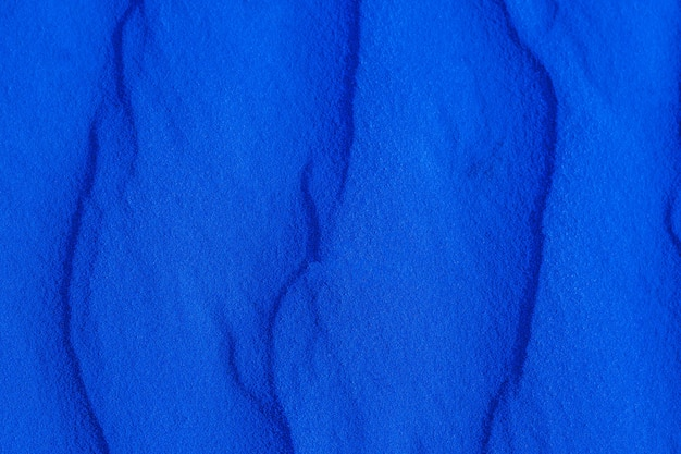 青い砂のテクスチャをクローズアップ、火星の砂
