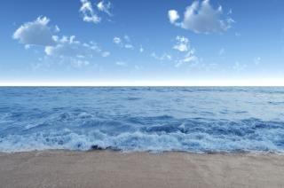 Blue sea, ocean
