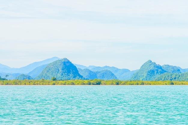 Blue sea seascape clear andaman