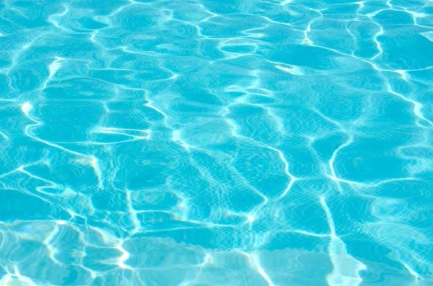 波のある青い海面