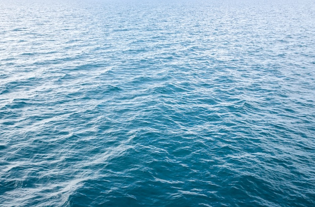 Blue sea waves soft surface