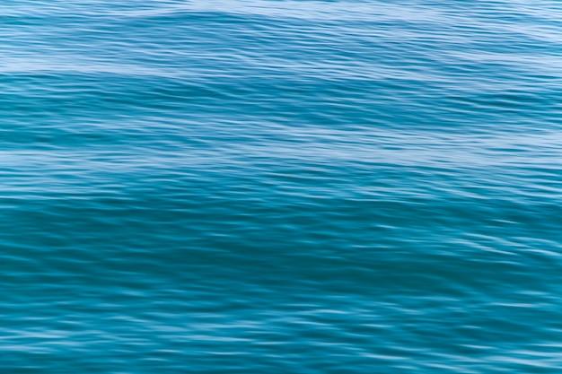 푸른 바다 파도 표면 패턴