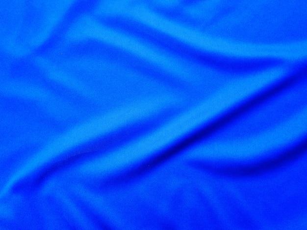Blue silk cloth texture,fabric background