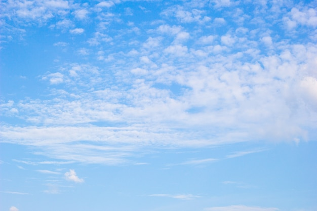 Голубое небо и облако