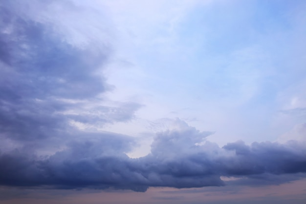 Blue sky background with white clouds. clouds with blue sky